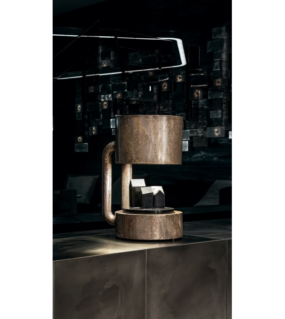 Compound Henge Table Lamp
