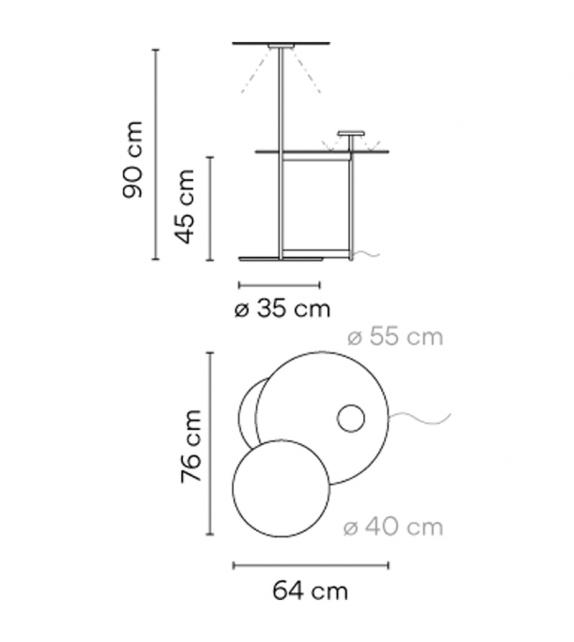Flat 5945 Vibia Stehleuchte
