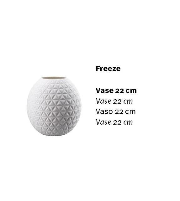Versandfertig - Phi Freeze Vase Rosenthal