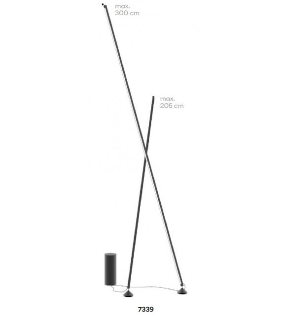 Sticks Stand-alone Vibia Lampada da Terra