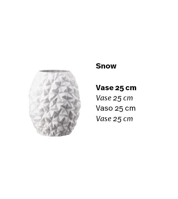 Prêt pour l'expédition - Phi Snow Vase Rosenthal