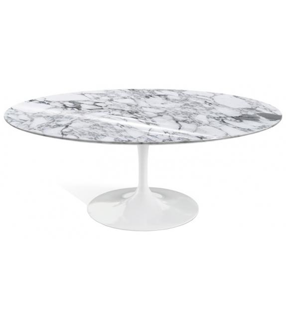Pronta consegna - Saarinen Knoll Tavolino Basso Ovale