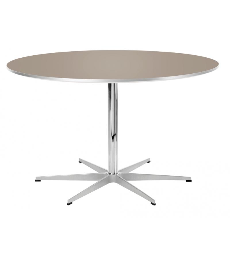 Table Series Circular Tavolo Base Piedistallo Fritz Hansen