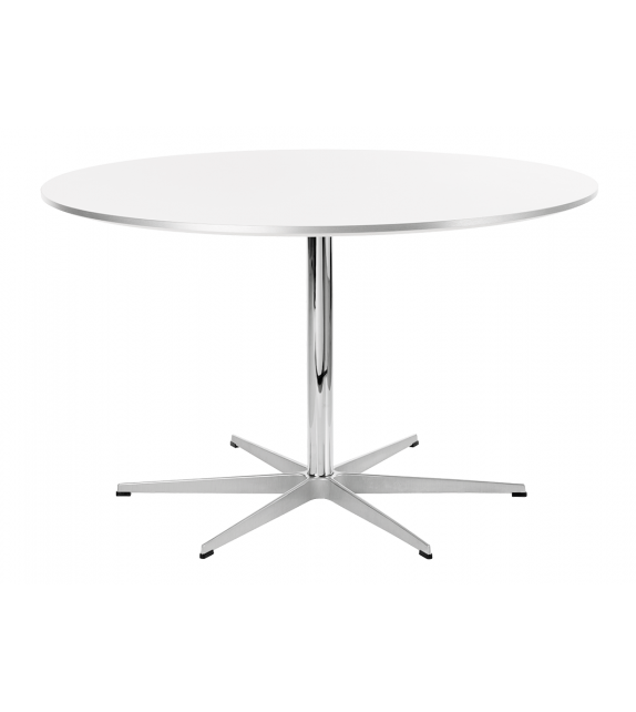 Table Series Circular Mesa Base En Pedestal Fritz Hansen