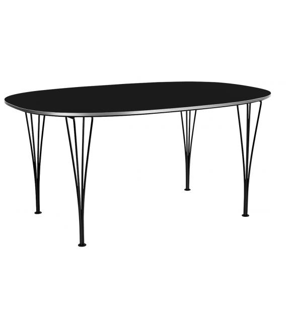 Table Series Super-Elliptical Span Legs Mesa Fritz Hansen