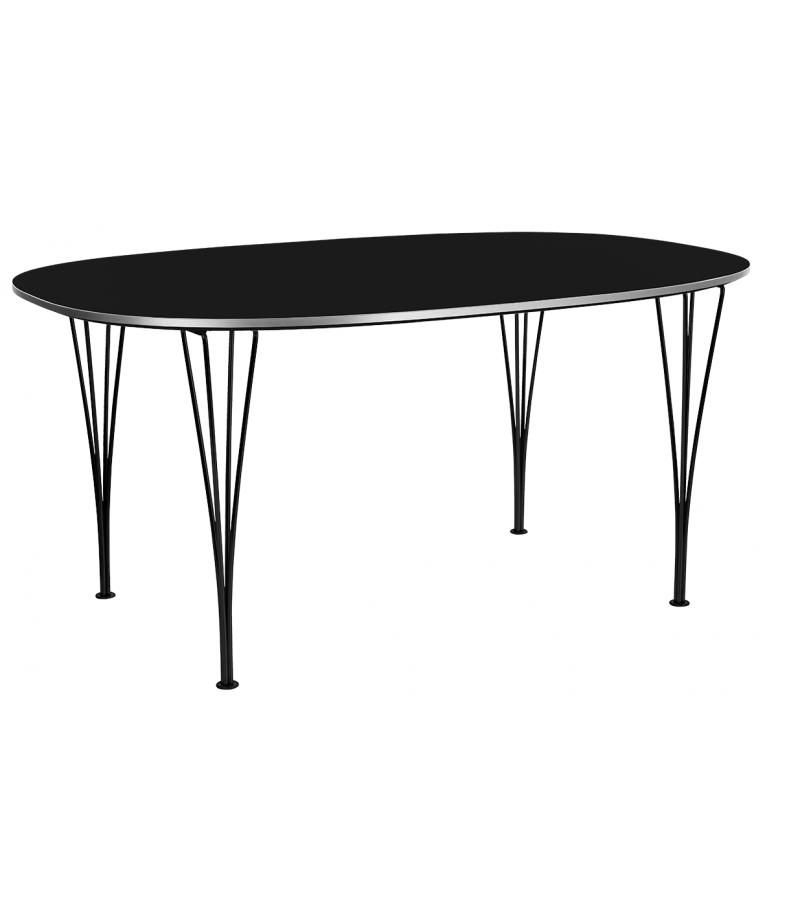 Table Series Super-Elliptical Span Legs Fritz Hansen