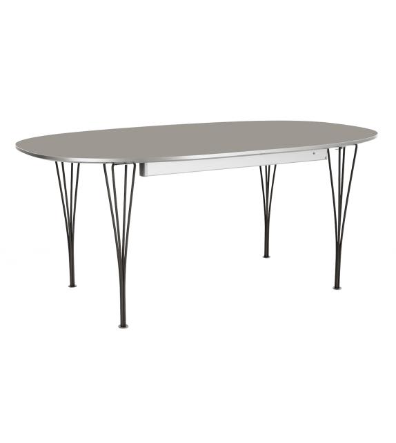 Table Series Super-Elliptical Erweiterbar Span Legs Tisch Fritz Hansen