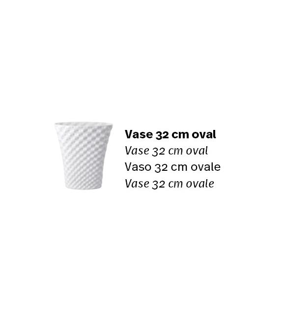 Pronta consegna - Vibrations Oval Vaso Rosenthal