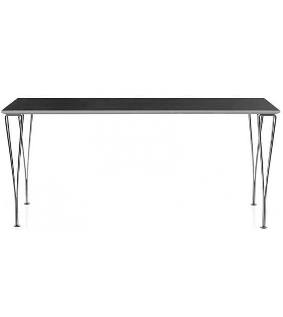 Table Series Span Legs Mesa Rectangular Fritz Hansen