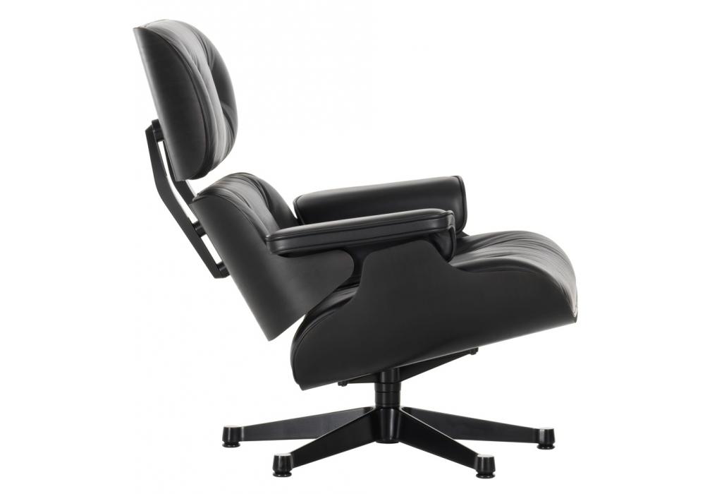 lounge chair ottoman black version vitra milia shop. Black Bedroom Furniture Sets. Home Design Ideas