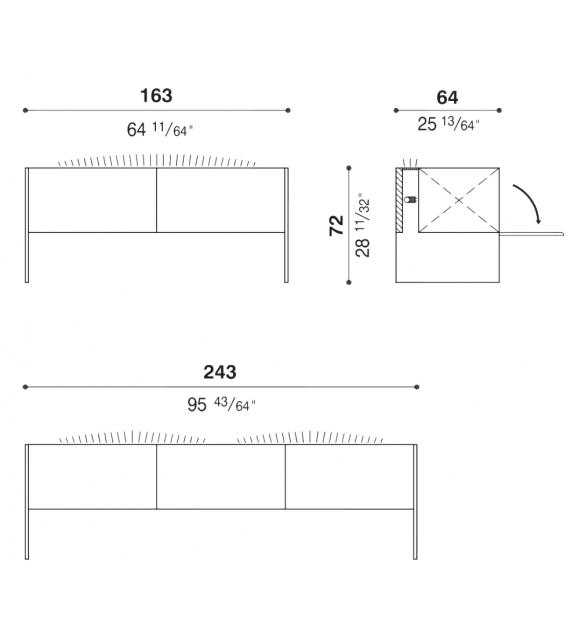 Steel Sideboard Acerbis