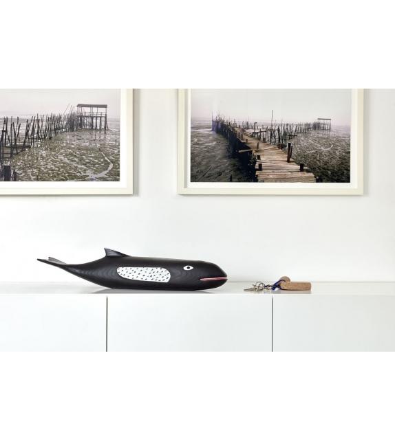 Eames House Whale Vitra Skulptur