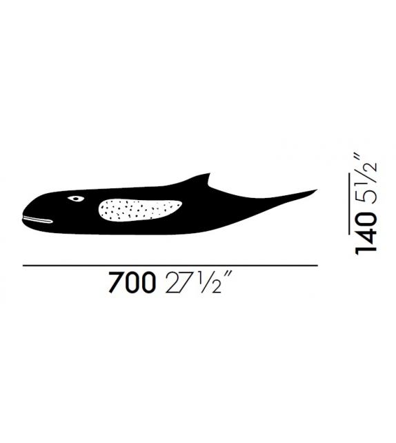 Eames House Whale Vitra Sculpture