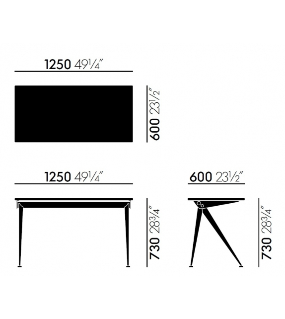 Compas Direction Table Vitra