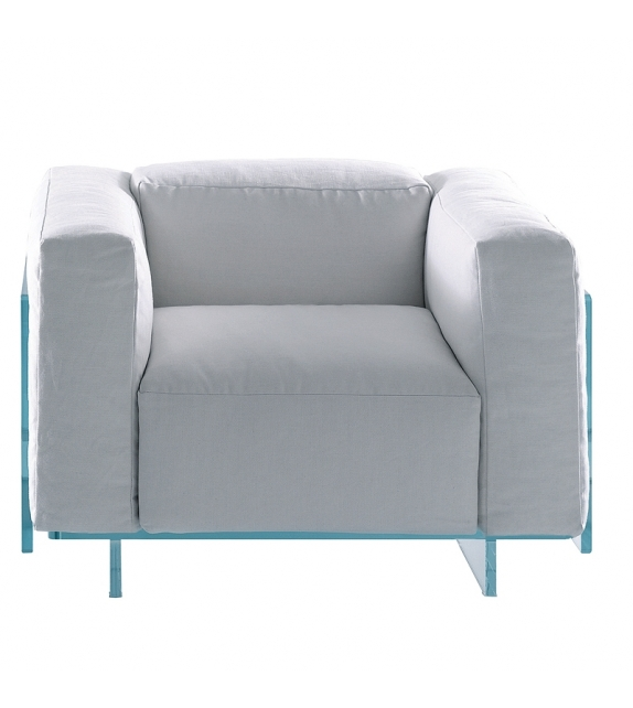 Crystal Lounge Armchair Glas Italia