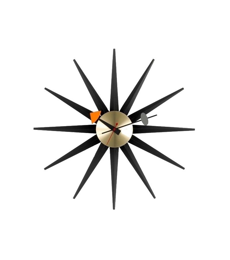 Sunburst Clock Vitra