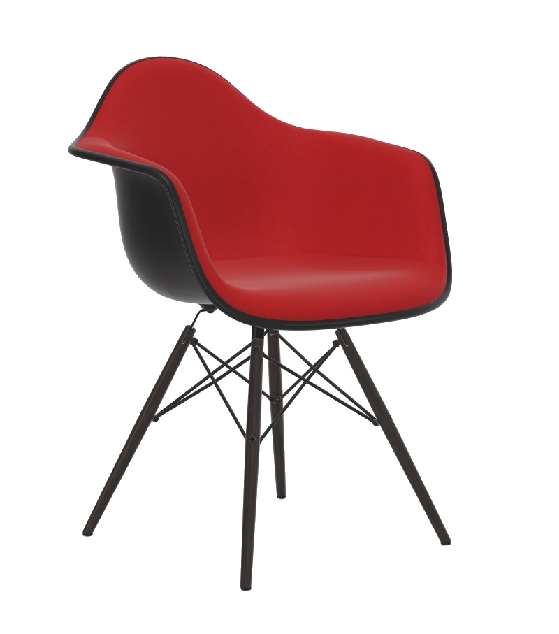 Eames Plastic Armchair DAW Padded