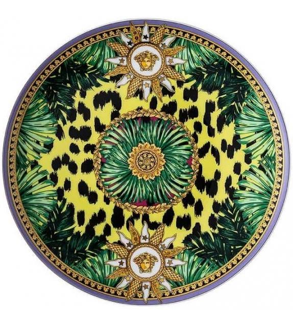Jungle Animalier Wild Rosenthal Versace Assiette Plate