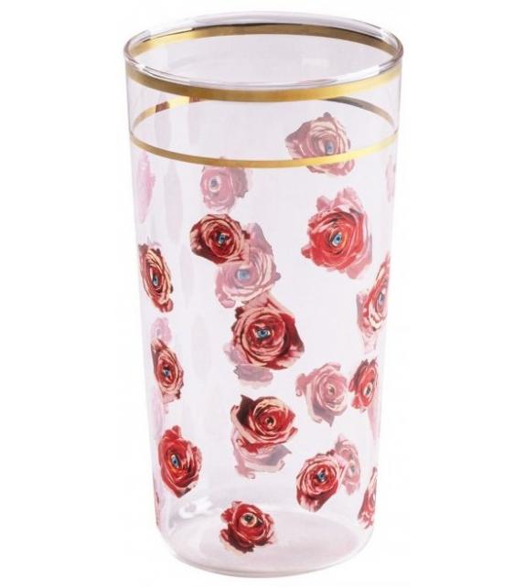 Versandfertig - Roses Seletti Glas