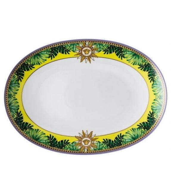 Jungle Animalier Rosenthal Versace Ovale Platte