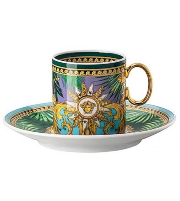 Jungle Animalier Rosenthal Versace Espresso Cup & Saucer