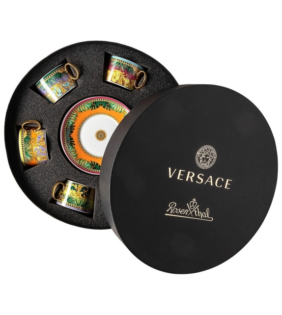 Jungle Animalier Rosenthal Versace Set with 6 Tea c/s