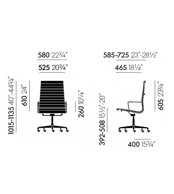 Vitra: Aluminium Group  EA 119 Chair