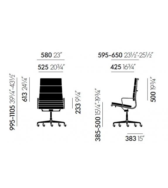Vitra: Softpad Group  EA 219 Silla