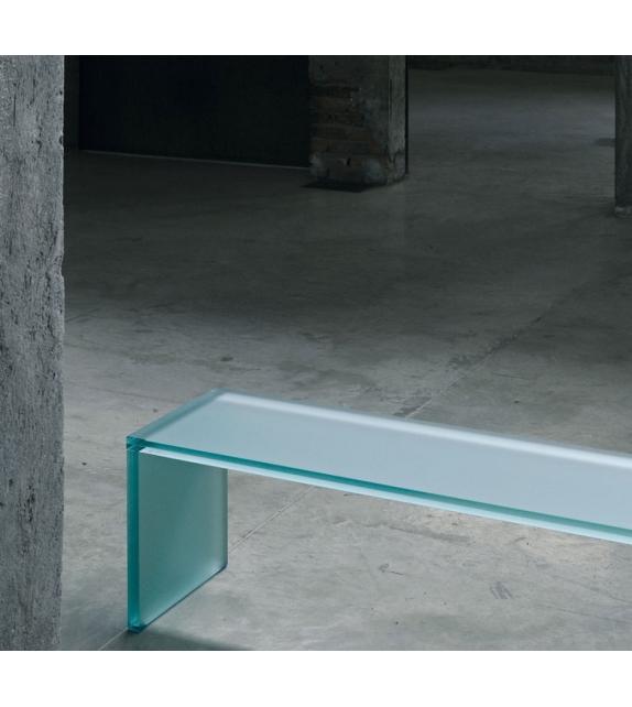 Triennale Bench Glas Italia