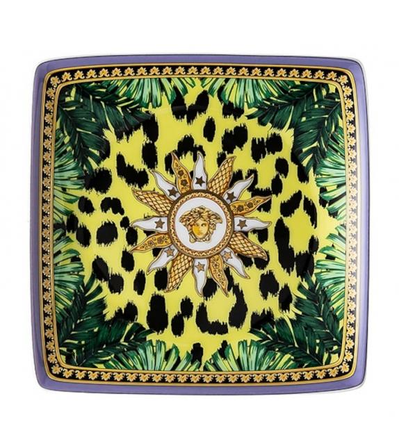 Jungle Animalier Rosenthal Versace Coupelle Carrée Plate