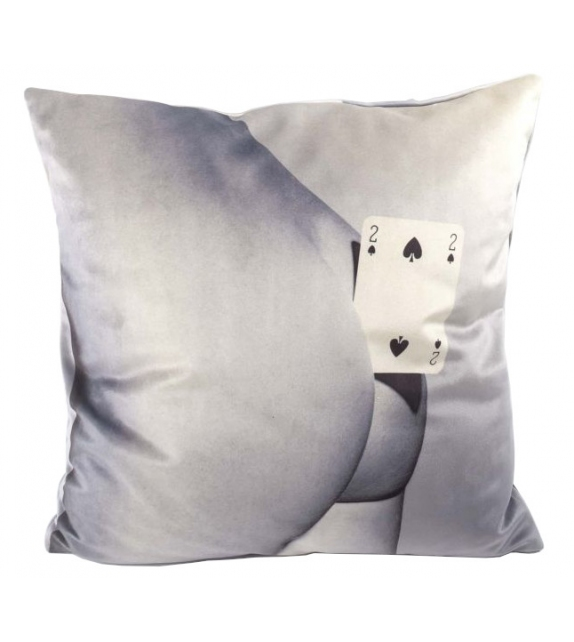 Ready for shipping - Two of Spade Seletti Cushion