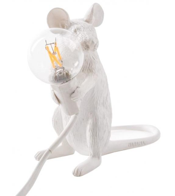 Listo para entregar - Mouse Lamp Mac Seletti Lámpara de Mesa / Pie