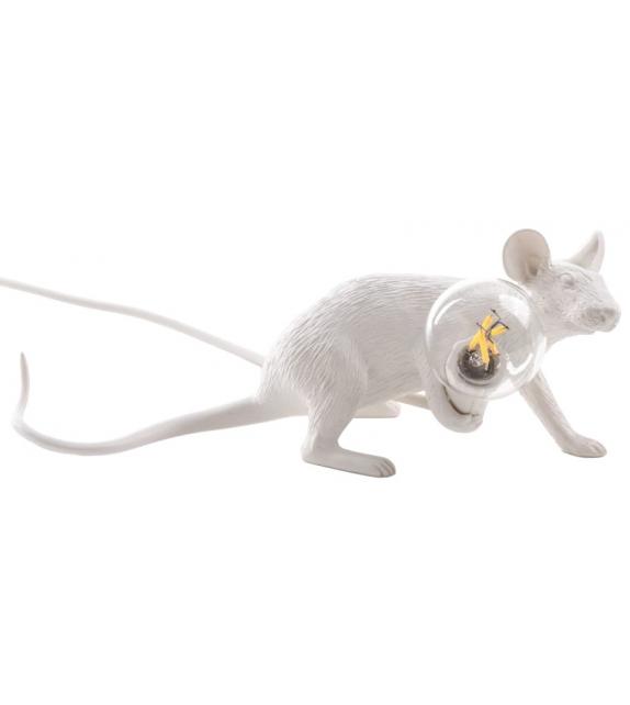 PrêtPrêt pour l'expédition - Mouse Lamp Lop Seletti Lampe de Table / Lampadaire