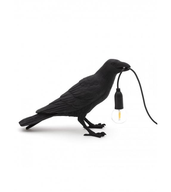 Versandfertig - Bird Lamp Waiting Seletti Tischleuchte