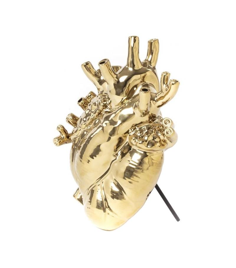 Pronta consegna - Love in Bloom Gold Seletti Vaso
