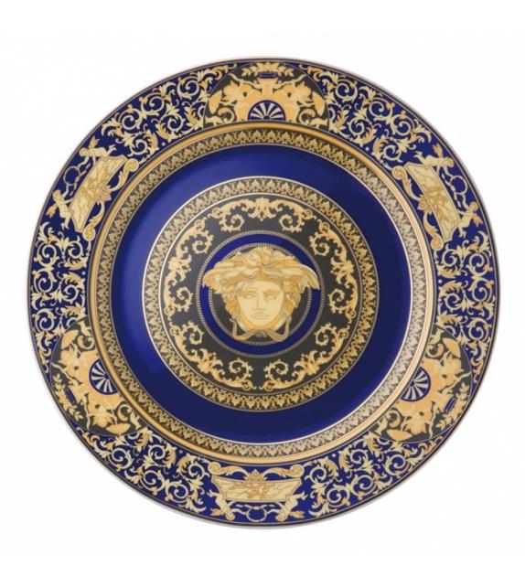 Medusa Blue Rosenthal Versace Wall Plate
