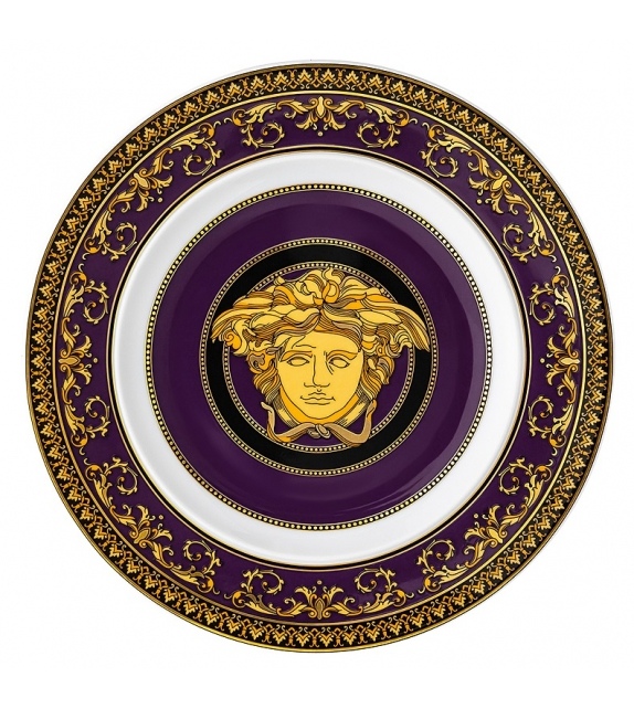 Medusa Marine Rosenthal Versace Flat Plate