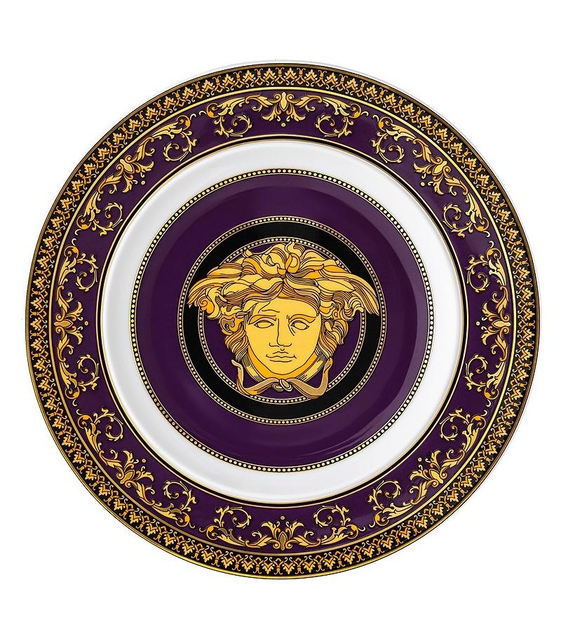 Medusa Marine Rosenthal Versace Piatto Piano