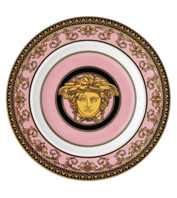 Medusa Rose Rosenthal Versace Flat Plate