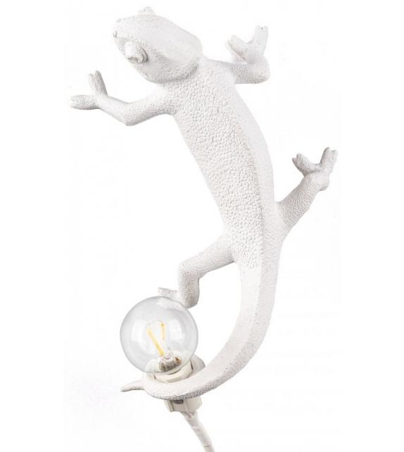 Versandfertig - Chameleon Lamp Going Up Seletti Tischleuchte