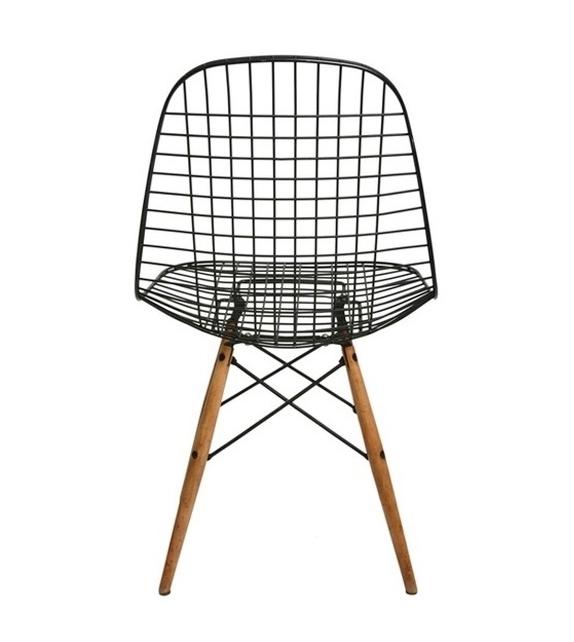 Wire Chair DKW Silla Vitra