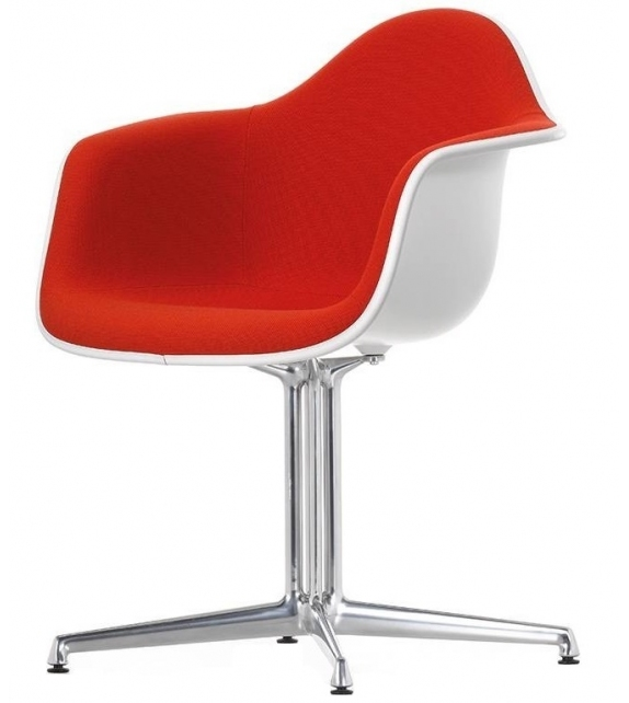 Eames Plastic Armchair DAL Polster Sessel Vitra