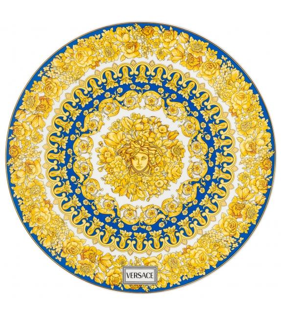 Medusa Rhapsody Blue Rosenthal Versace Service Plate