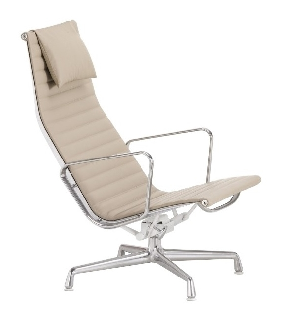 Aluminium Chair EA 124 Sillòn Vitra