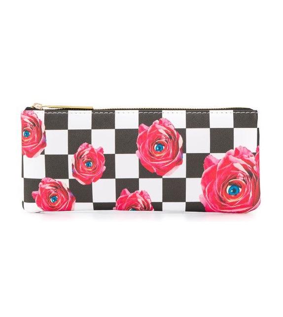 Pronta consegna - Roses on Check Seletti Astuccio