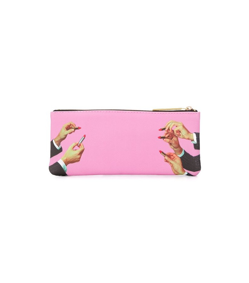 Versandfertig - Lipsticks Pink Seletti Mäppchen