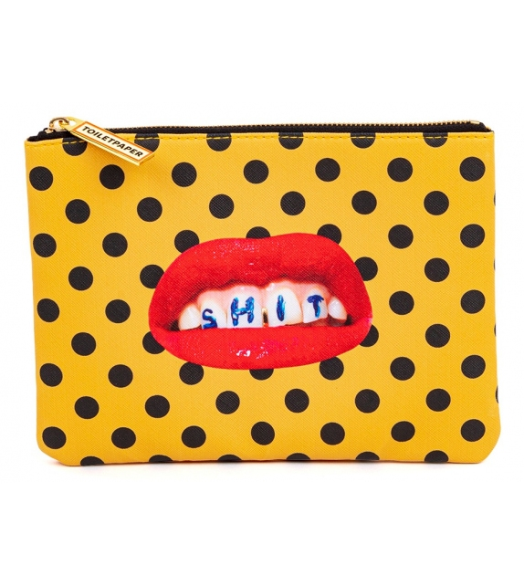 Ready for shipping - Shit Seletti Cosmetic Bag