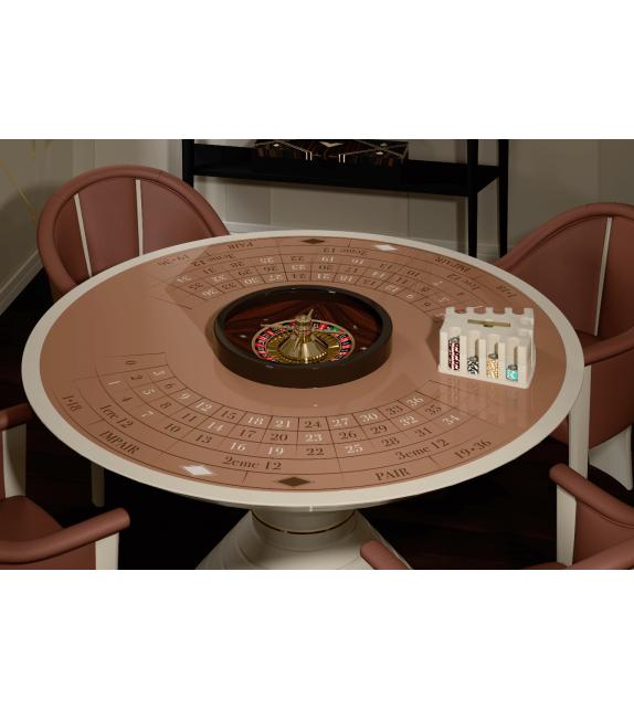 Round Table 160 Vismara Roulette Tisch