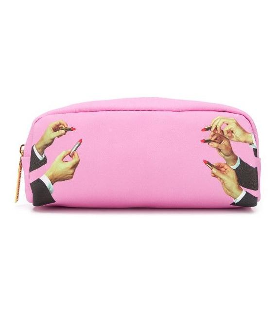 Pronta consegna - Lipstick Pink Pochette Seletti