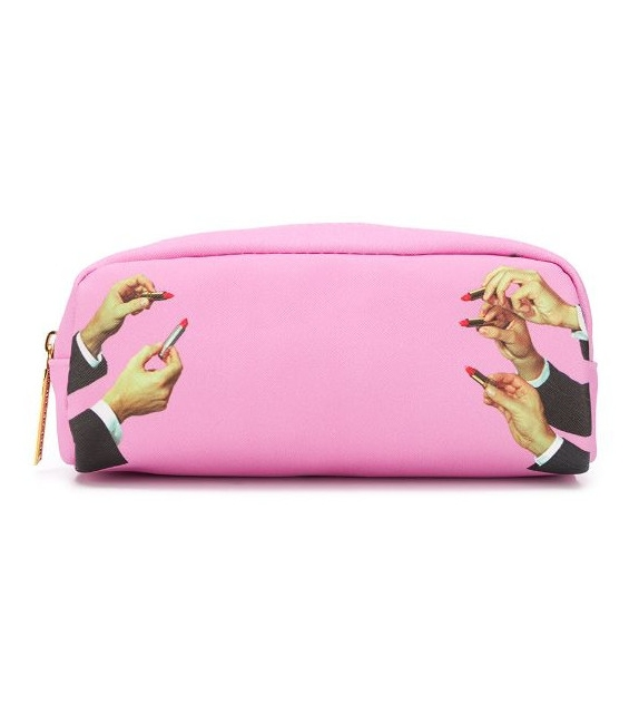 Ready for shipping - Lipstick Pink Seletti Clutch Bag